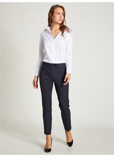Vekem-Limited Edition Slim Fit Pantolon Lacivert